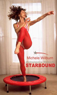 Starbound mini trampoline exercise DVD Rebounding exercise videos at home for the best rebounding workouts