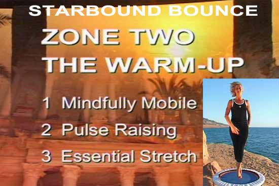 rebounding workouts include warming up to mobilise increase mobility and raise circulation