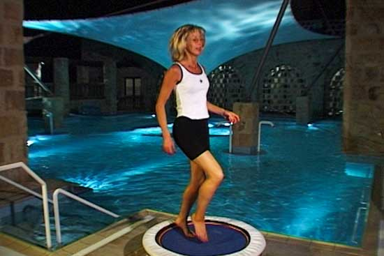 Mini trampoline workouts provide a great way to exercise at home - you overcome the inertia of most home exercise programmes when you are rebounding