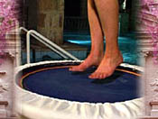 Care for your feet as part of your mini trampoline rebounder workout