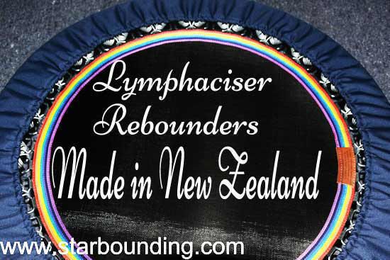Best quality mini trampoline rebounders RH48 lymphacisers in Australia and NZ