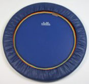 The Mini Swing rebounder comes with a blue or black rebounder mat - combine the Mini Swing rebounder with the mat cover colour of your choice