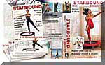 Rebounding with Starbounds rebounding video compilation and The Starbound Workout mini trampoline videos provides the best package to get you rebounding safely, allowing for your ongoing progress with your mini trampoline workouts, from beginners rebounding to advanced rebounding exercise routines