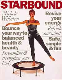 Rebounding exercises are presented in workouts within a well balanced rebounding programme for fitness, health and healing