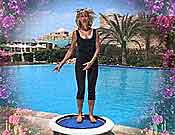 The Talk Test can be used during rebounder exercise sessions to check you are rebounding at a level that us within your safe training zone.