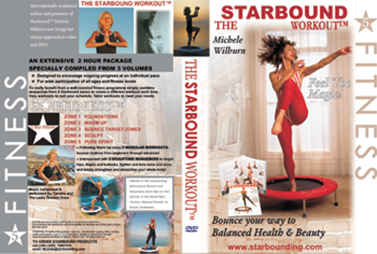 Starbound books of mini trampoline workouts nad helthy lifestyle plans combined mith my rebounding eercise video compilations in Volume One of my mini trampoline DVD Five Star Fitrness are designed to getyou bouncing safely and with purpose.