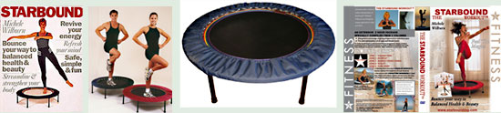 Starbound provides the worlds best quality mini trampoline rebounders internationally