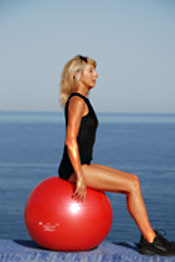 Use a variety of home exercise fitness equipment during your rebounding workouts