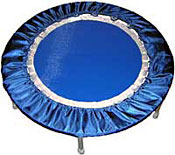 The new blue PLatinum Blue Needak rebounder provides a superb quality of rebounding exercise workout