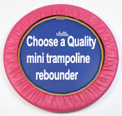 We delivery quality mini trampoline rebounders worldwide.