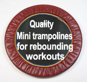 Starbound provides the best quality rebounder mini trampolines worldwide for rebounding exercise workout DVDs