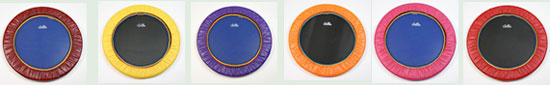 We deliver all mini trampoline rebounders worldwide for mini trampoline rebounding workouts with Starbound books and DVDs