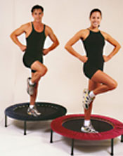New Zealnd lymphaciser rebounders are available in 3 models, the RH48, 36 and RH48 Gym rebounder