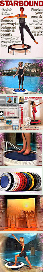 Best seller mini trampoline rebounding workouts fopr DVD rebounder exercise provide a wide variety of DVD workouts, developed systematically from beginners to advanced.
