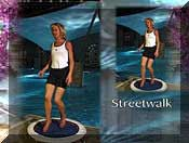 Rebounding exercise workout routines in Starbound DVDs are performed on and around the mini trampoline rebounder