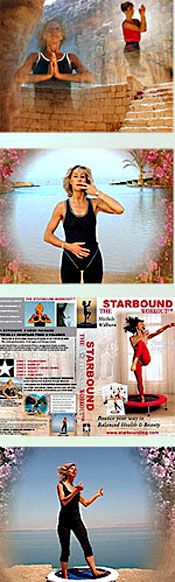 The Starbound Workout DVD rebounding workouts are filmed in glorious locations in Jordan, bringing a glorious spirit to your rebounding workouts at home