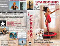 Starbound Workout rebounding exercise DVD and video rebounder exercise workouts for mini trampolines are filmed on the Dead Sea in Jordan to bring a holistic Spirit to your workout at home