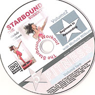 Starbound Workout Mini trampoline DVD Beginners to Rebounding provides a foundation level workout DVD for those who are just heading back into fitness