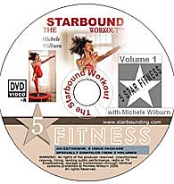 Volume ONe of The Starbound Workout contains all rebounder mini trampoline workouts in The Starbound Workout rebounding series