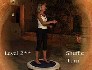 Rebounding exercise skill directories  are included at the beginning of each module in Starbounds DVDS and video.