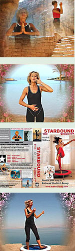 In the Starbound Workout rebounding exercise DVD for mini trampoline rebounder lymphatic pulsing techniques provide gentle rebounder exercise workouts for the lymphatic system
