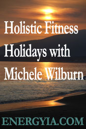 Holisitc Fitness exercise retreats are hosted by Micheloe Wilburn internationally.
