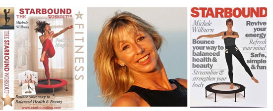 Starbound mini trampoline workouts for Australia with leading expert and mini trampoline coach Michele Wilburn