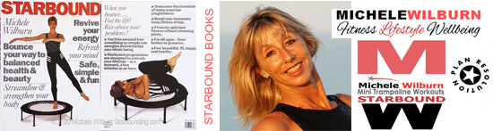 Starbound international best seller mini trampoline books for fitness and holistic lifestyle resolution plans for transformation